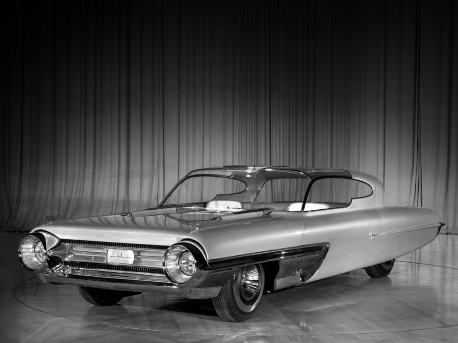 1958 Ford La Galaxie Concept retro wallpaper