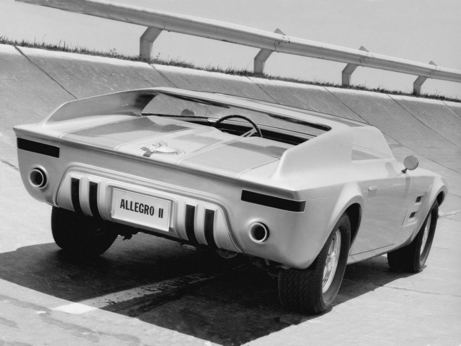 1967 Ford Allegro II Roadster Concept supercar classic wallpaper