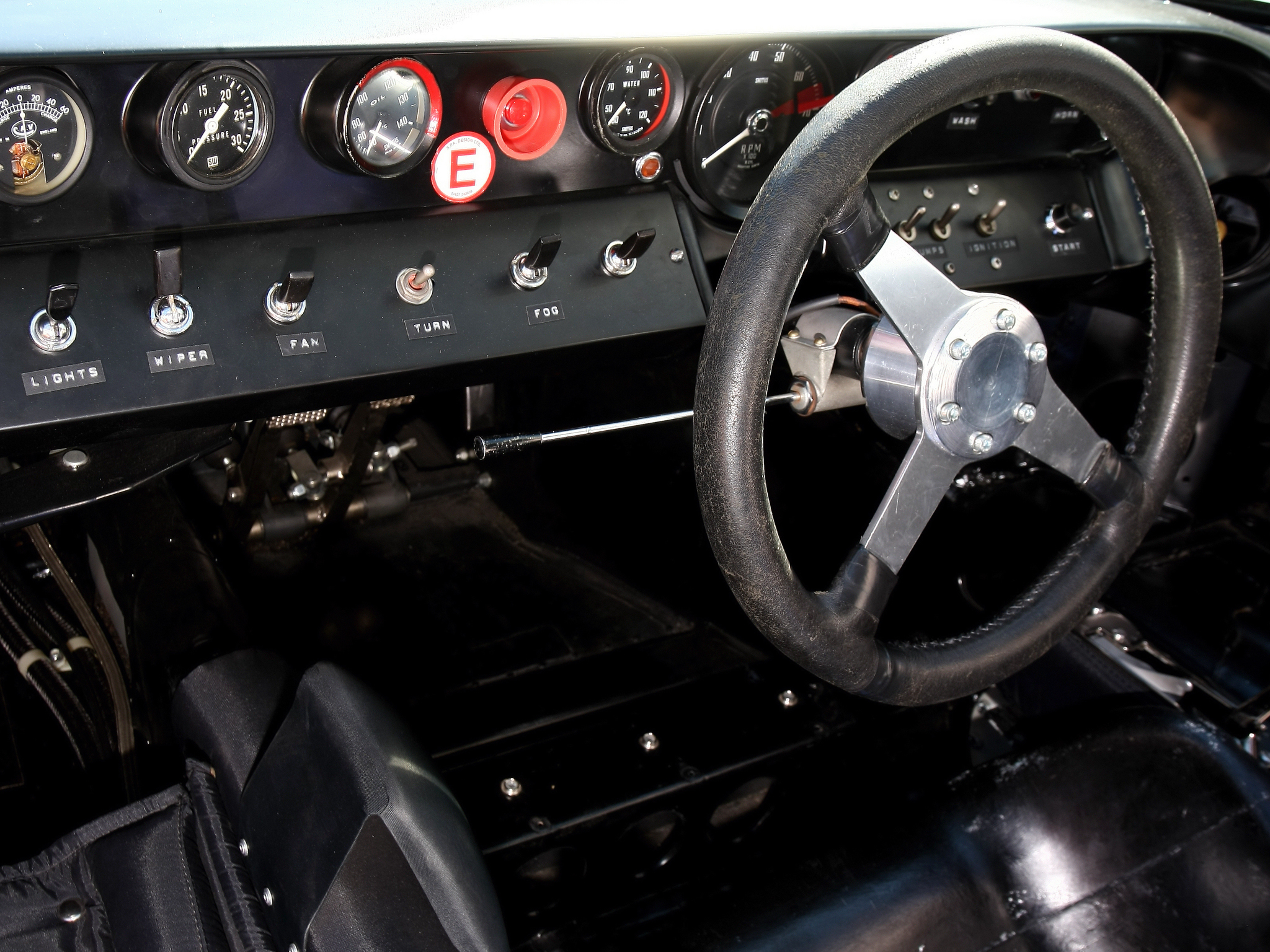 1968 ford gt40 gulf oil le mans race racing supercar classic interior g wallpaper 2048x1536 140823 wallpaperup