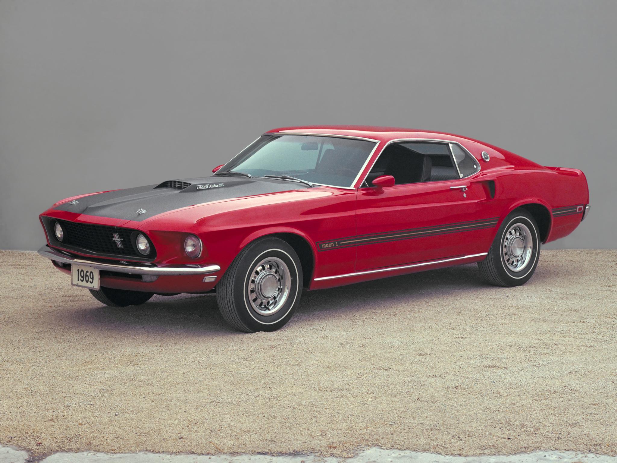1969 Mustang Mach 1 Wallpapers