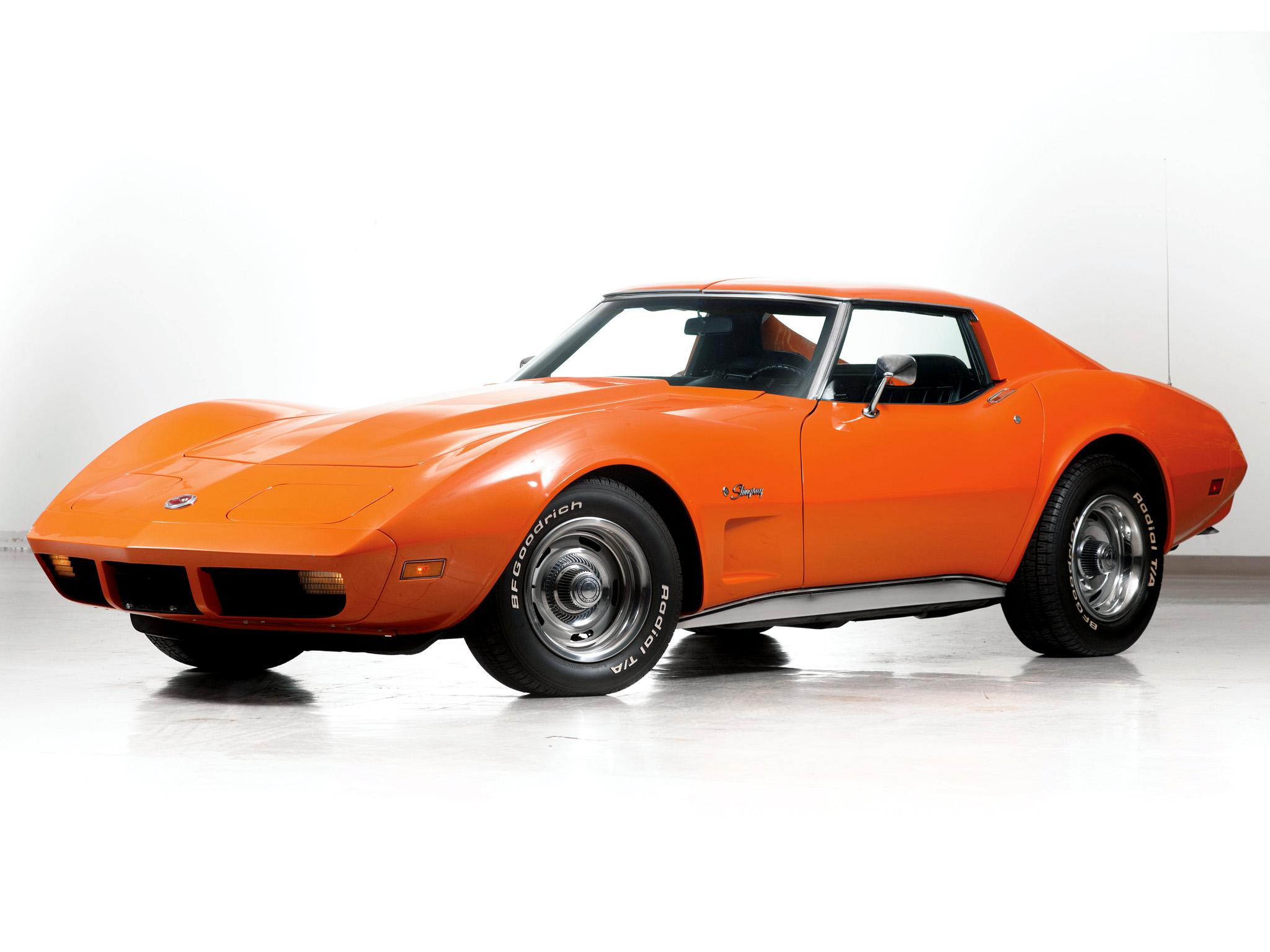 1974 Chevrolet Corvette Stingray C 3 Supercar Muscle
