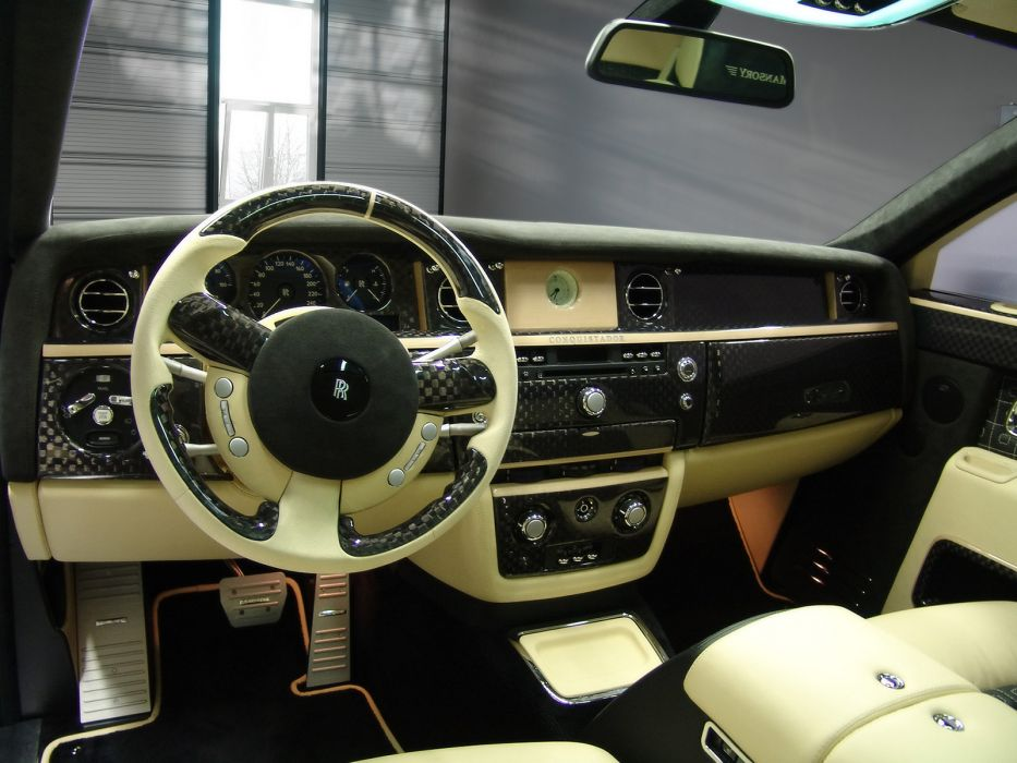 2007 Mansory Conquistador Rolls Royce Phantom Tuning Luxury Interior
