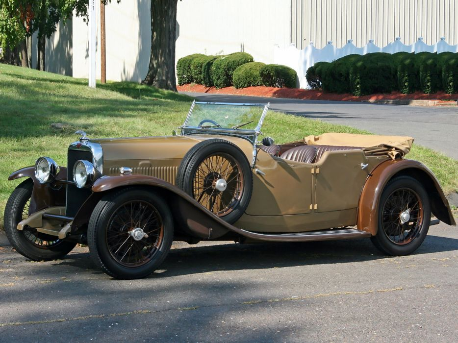 1934 Alvis SB Firefly Tourer retro luxury s-b    h wallpaper