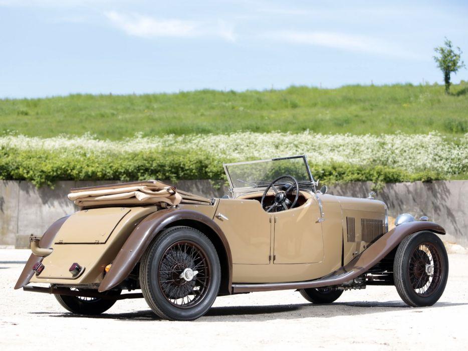 1934 Alvis SB Firefly Tourer retro luxury s-b   h wallpaper