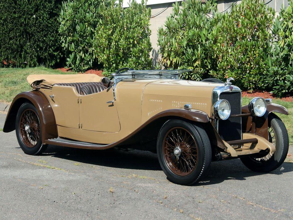 1934 Alvis SB Firefly Tourer retro luxury s-b wallpaper