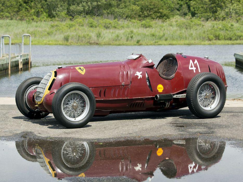 1935 Alfa Romeo Tipo-C 8C-35 race racing retro tipo   gb wallpaper