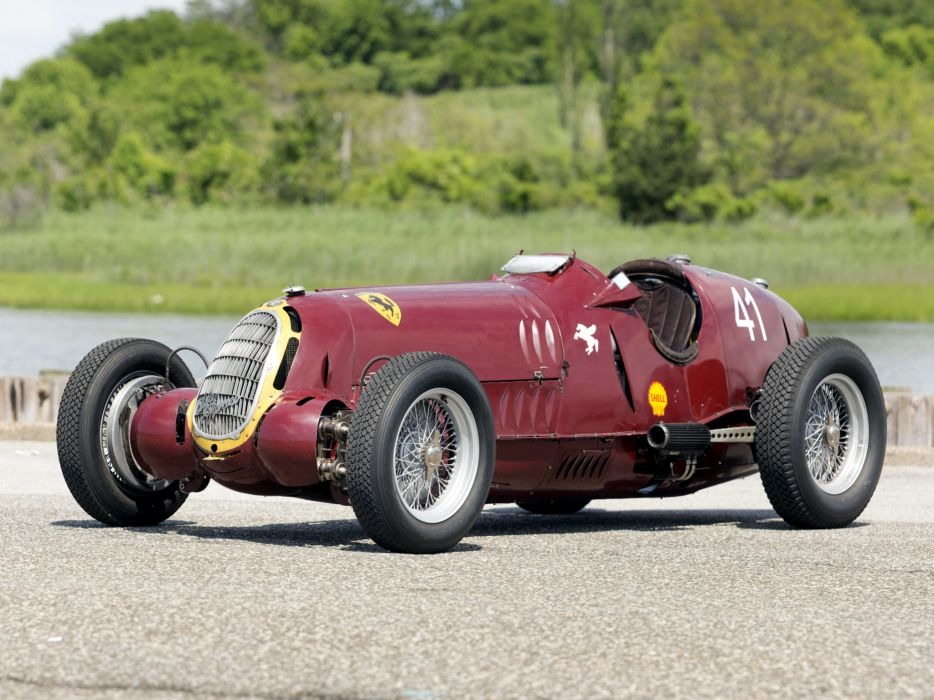 1935 Alfa Romeo Tipo-C 8C-35 race racing retro tipo wallpaper