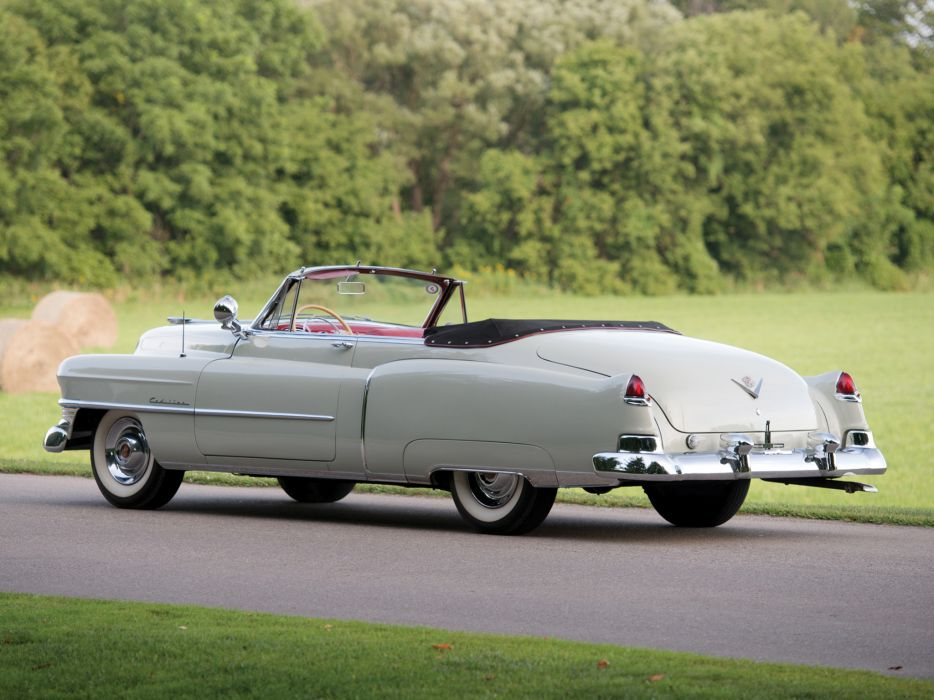 1950 Cadillac Sixty-Two Convertible 6267 luxury retro   fe wallpaper