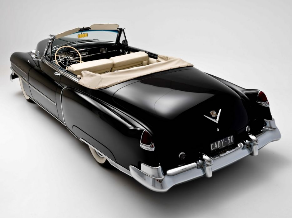 1950 Cadillac Sixty-Two Convertible 6267 luxury retro interior       g wallpaper