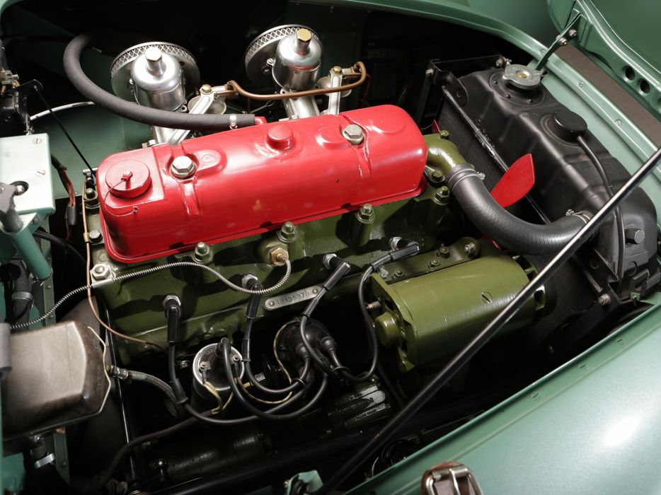 1953 Austin Healey 100 Special-Test-Car race racing supercar retro engine      h wallpaper