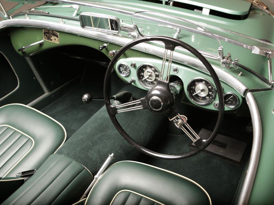 1953 Austin Healey 100 Special-Test-Car race racing supercar retro interior       h wallpaper