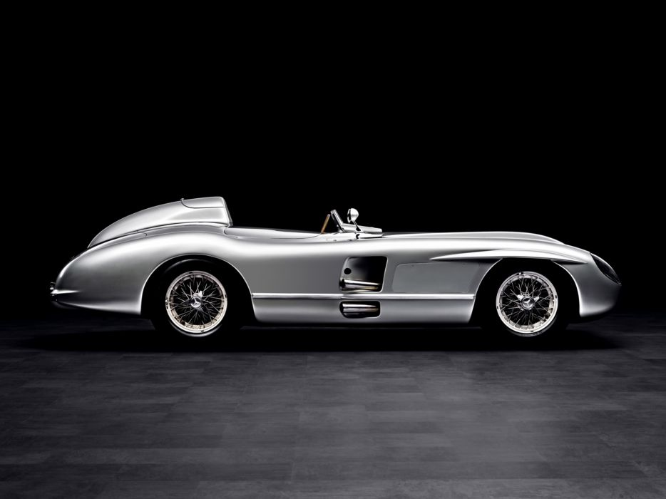 1954 Mercedes Benz 300SLR W196S supercar race racing retro   j wallpaper
