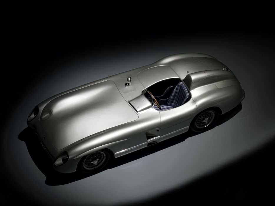 1954 Mercedes Benz 300SLR W196S supercar race racing retro  f wallpaper