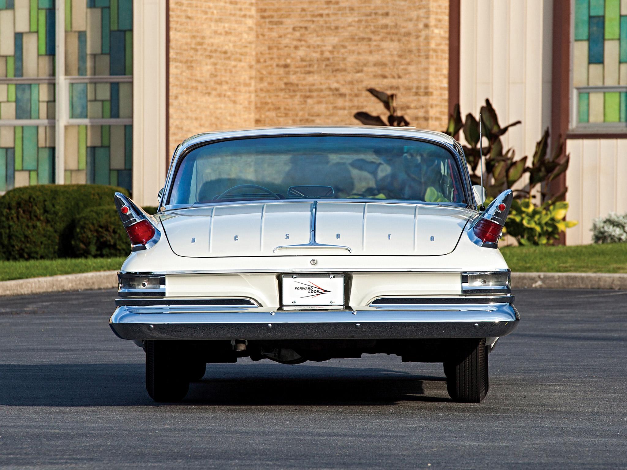 1961 Desoto Hardtop Coupe Rs1 L23 Classic Luxury J