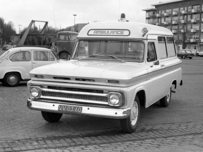Subarban >> 1965 Chevrolet C14 Half-ton Suburban Ambulance C1416 police emergency classic suv wallpaper ...