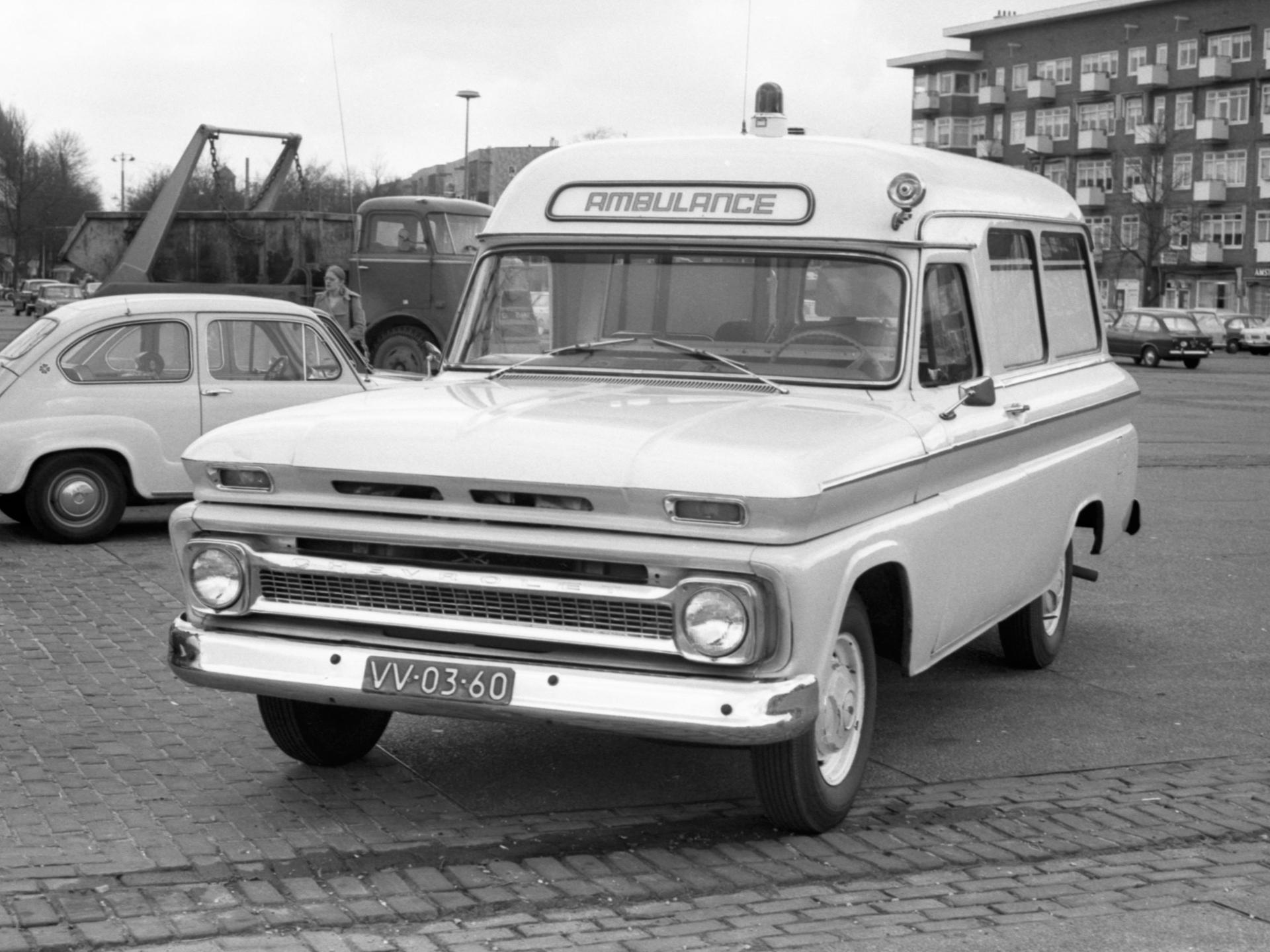 Chevrolet San Diego >> 1965 Chevrolet C14 Half-ton Suburban Ambulance C1416 ...