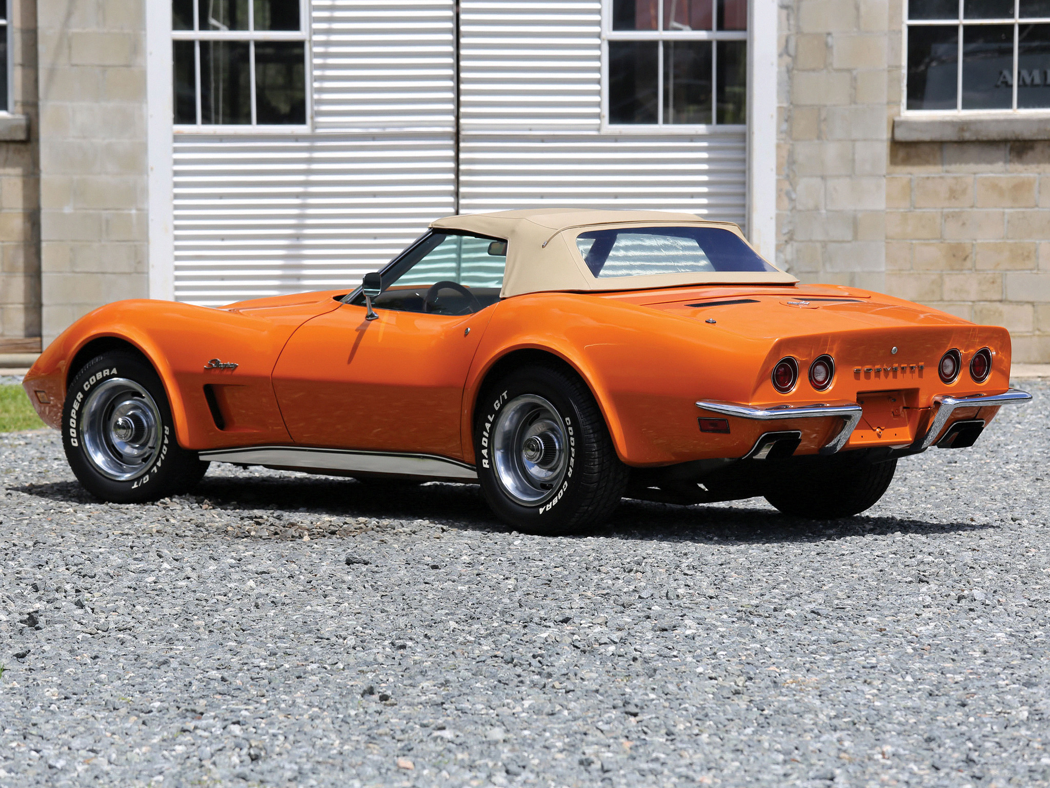 Picture of 1973 chevrolet corvette coupe exterior - 1973 Chevrolet Corvette Stingray Convertible C 3 Supercar Muscle Classic Fs Wallpaper 2048x1536 141205 Wallpaperup