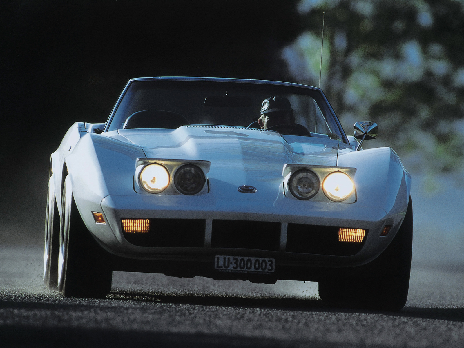 1973 Chevrolet Corvette Stingray Convertible C 3 Supercar