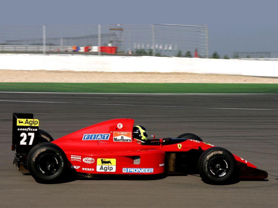 1991 Ferrari 643 formula one f-1 race racing    h wallpaper