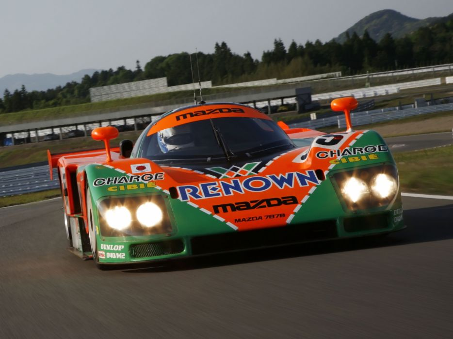 1991 Mazda 787B race racing  b wallpaper