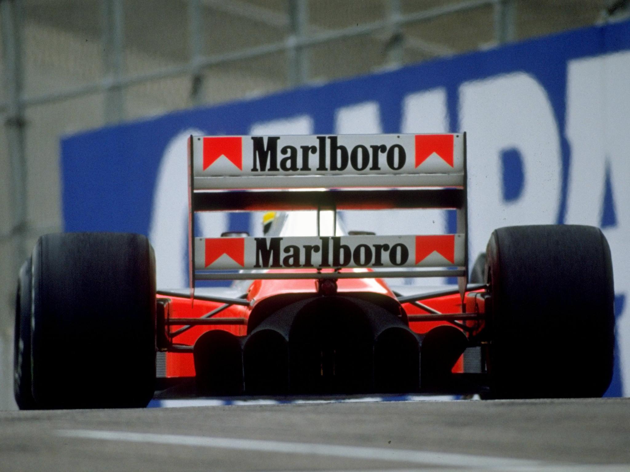 1991 Mclaren Honda Mp4 6 Formula One F 1 Race Racing F