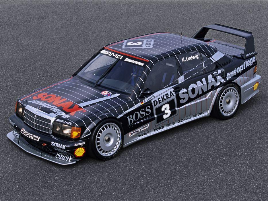 1991 Mercedes Benz AMG 190 Evolution I-I DTM W201 race racing   g wallpaper