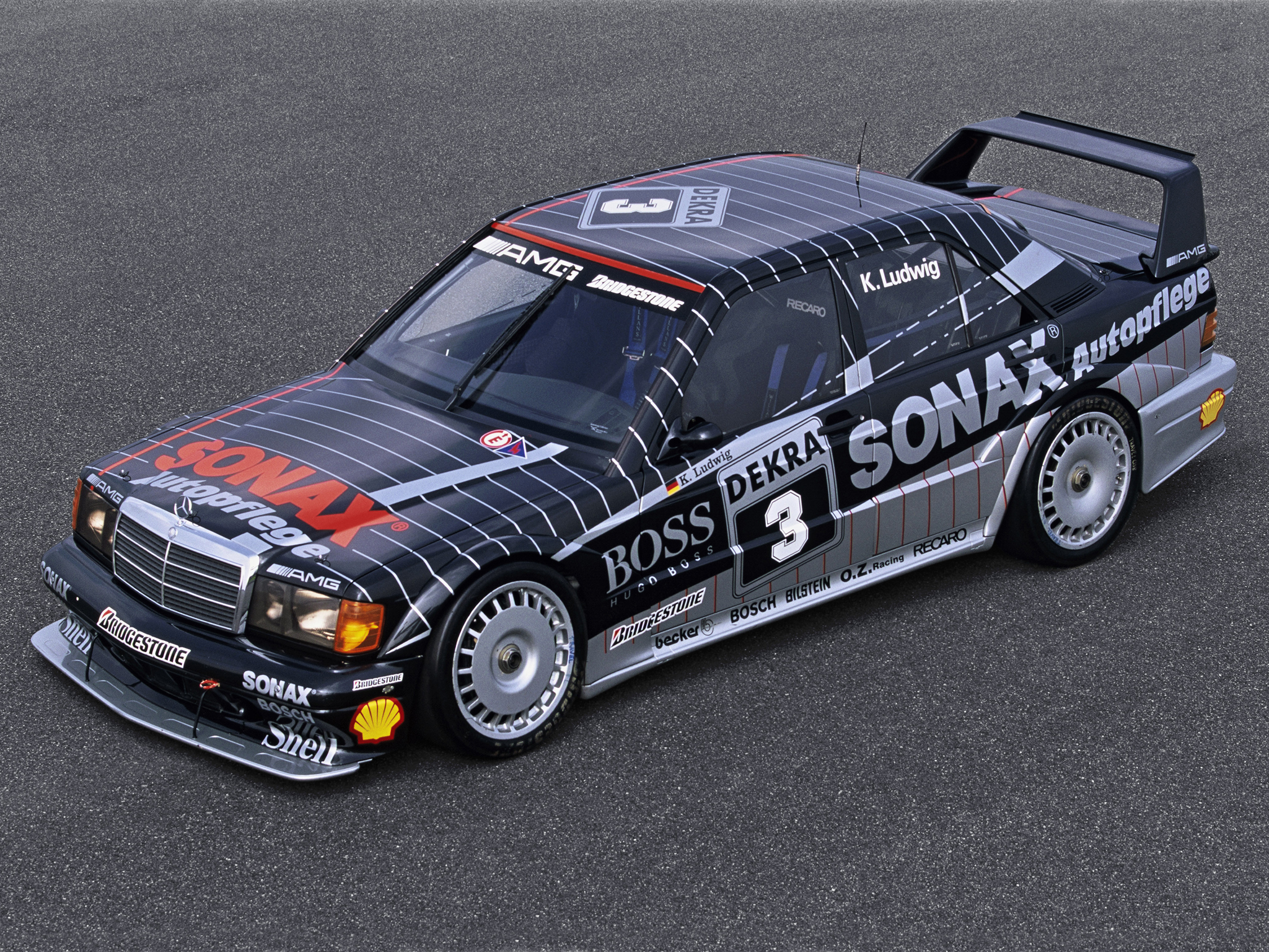 1991 mercedes benz amg 190 evolution i i dtm w201 race for Mercedes benz race