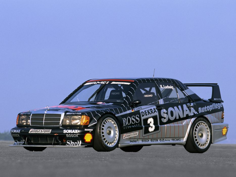 1991 Mercedes Benz AMG 190 Evolution I-I DTM W201 race racing wallpaper