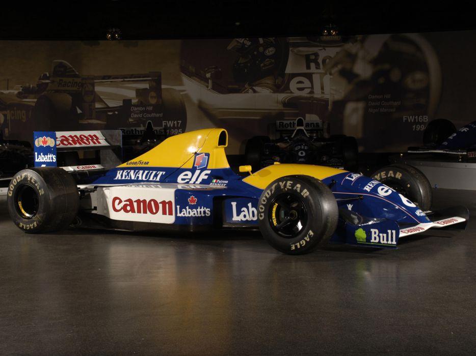 1991 Williams FW14 formula one f-1 race racing c wallpaper