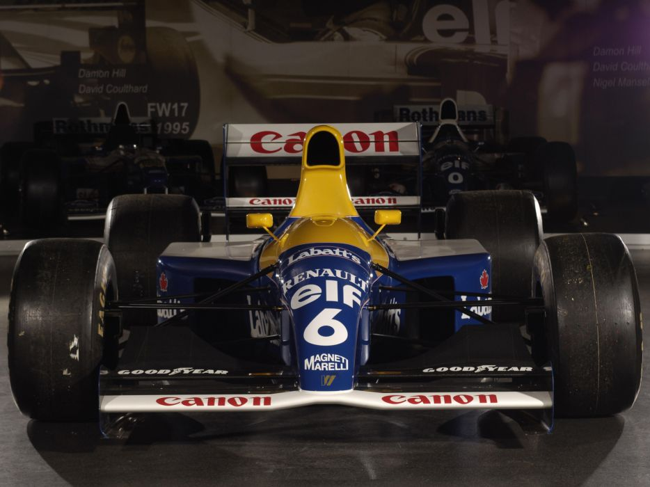 1991 Williams FW14 formula one f-1 race racing wallpaper