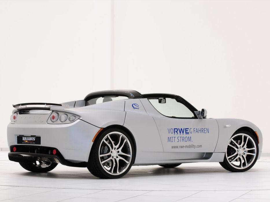 2009 Brabus Tesla Roadster Rwe Supercar H Wallpaper 2048x1536
