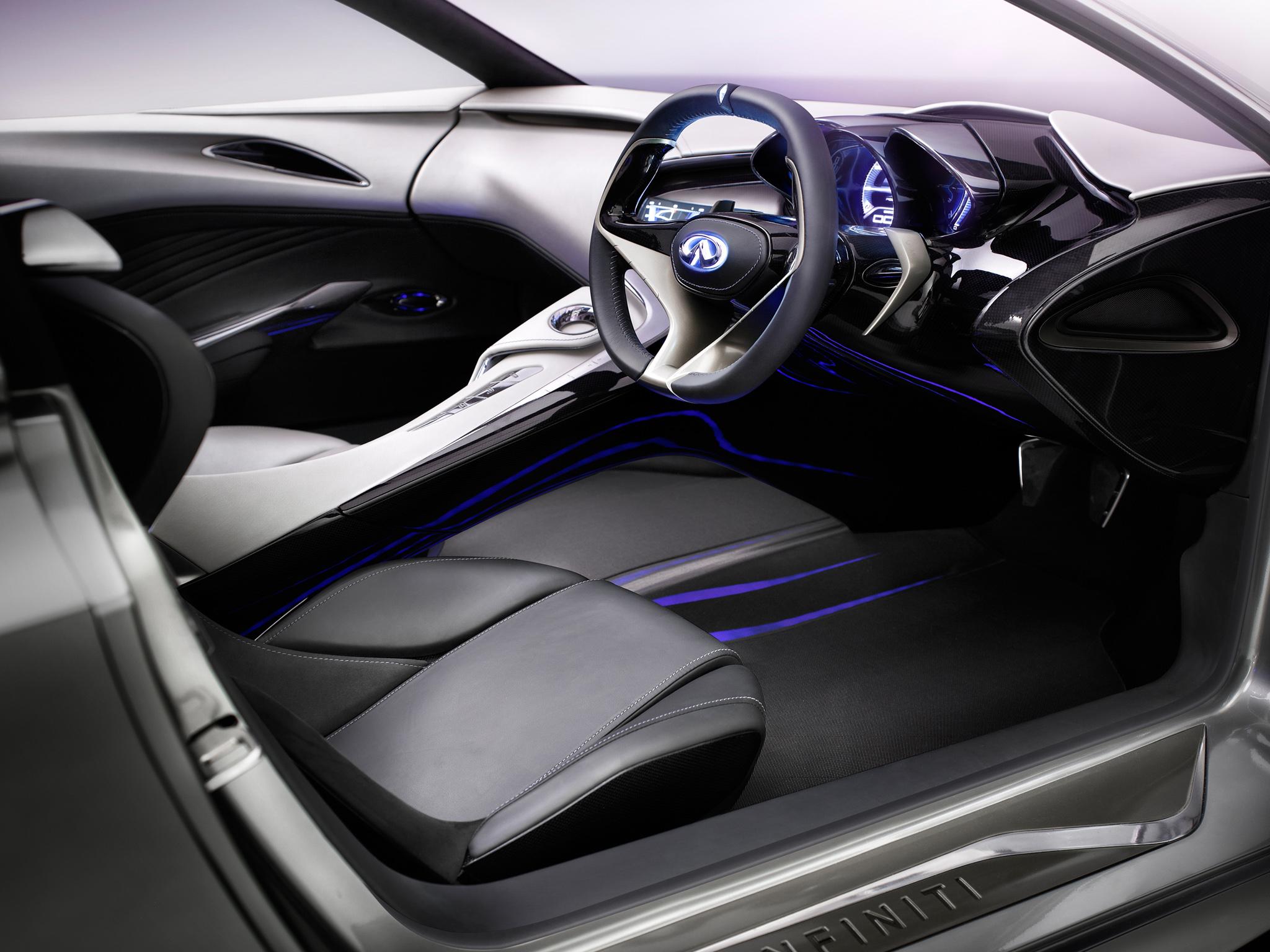 Infiniti Emerg E Concept Supercar Interior G Wallpaper