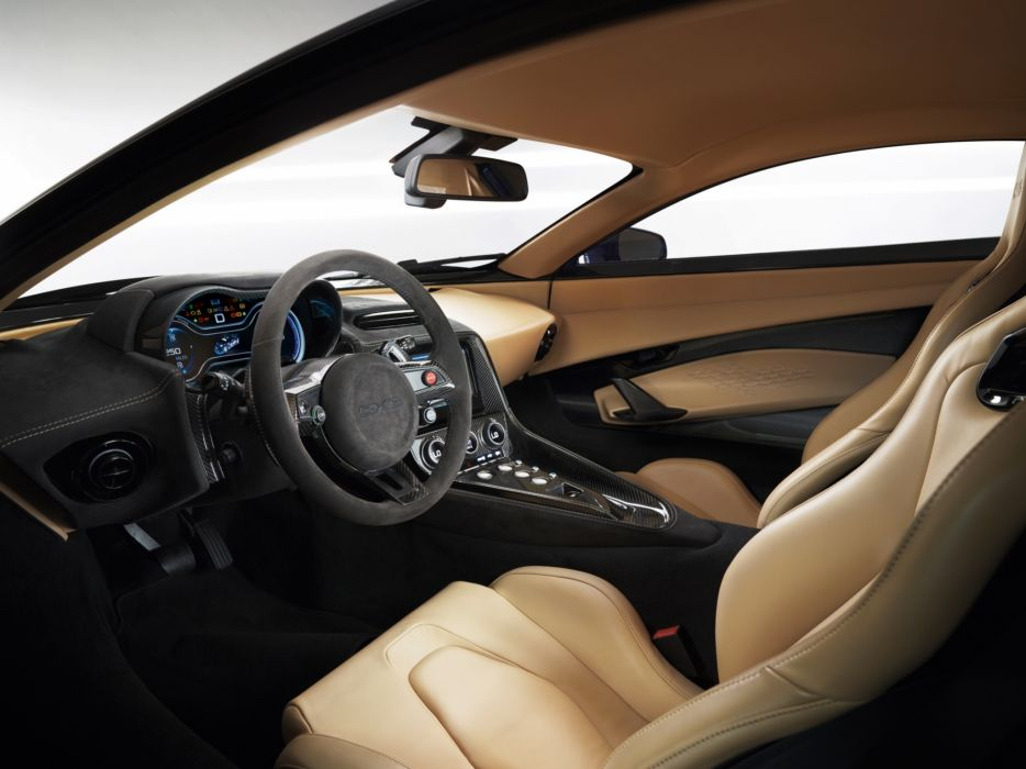 2013 Jaguar C-X75 Hybrid Prototype supercar interior       g wallpaper