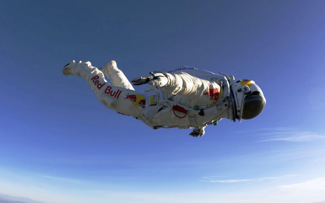 Felix Baumgartner Red Bull Skydiving wallpaper