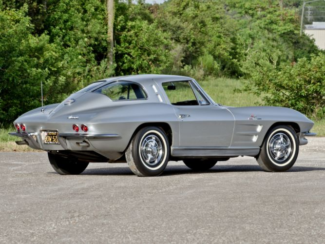 1963 Chevrolet Corvette Sting Ray L84 327 Fuel Injection C-2 supercar muscle classic j wallpaper