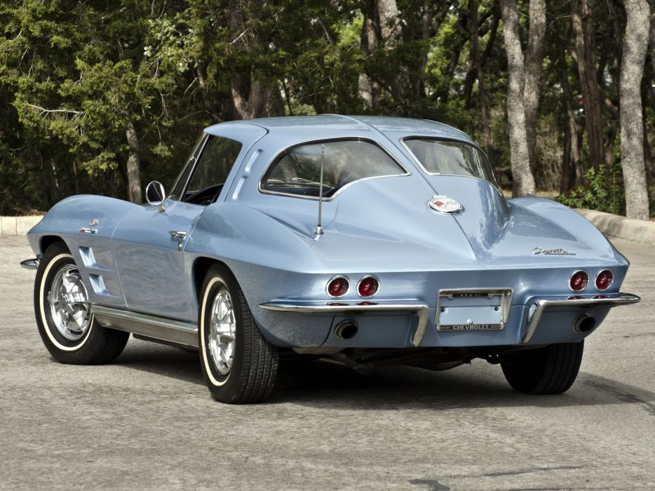 1963 Chevrolet Corvette Sting Ray L84 327 Fuel Injection C-2 supercar muscle classic    jf wallpaper