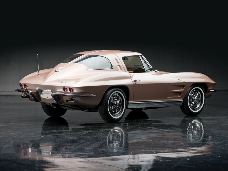1963 Chevrolet Corvette Sting Ray L84 327 Fuel Injection C-2 supercar muscle classic  he wallpaper