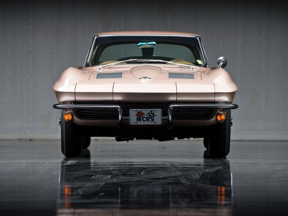 1963 Chevrolet Corvette Sting Ray L84 327 Fuel Injection C-2 supercar muscle classic  hj wallpaper