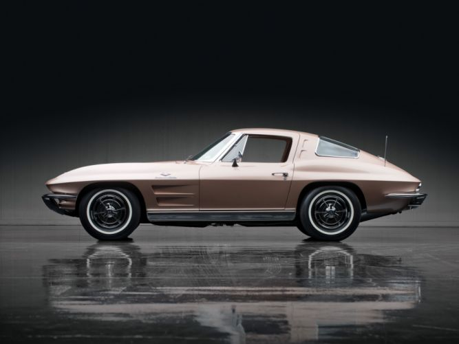 1963 Chevrolet Corvette Sting Ray L84 327 Fuel Injection C-2 supercar muscle classic hr wallpaper