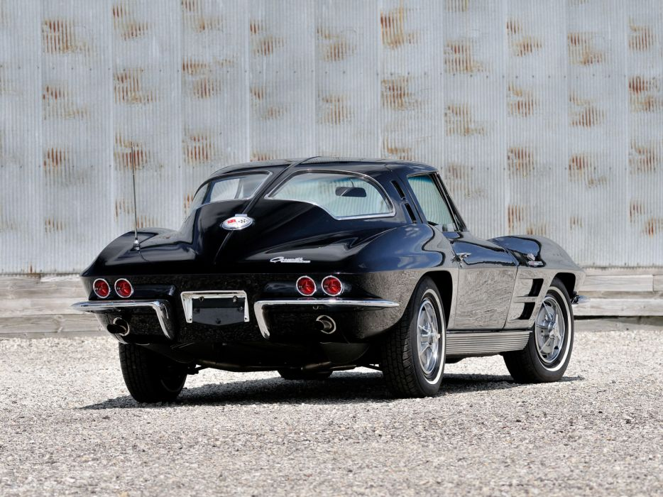 1963 Chevrolet Corvette Sting Ray L84 327 Fuel Injection C-2 supercar muscle classic  c wallpaper