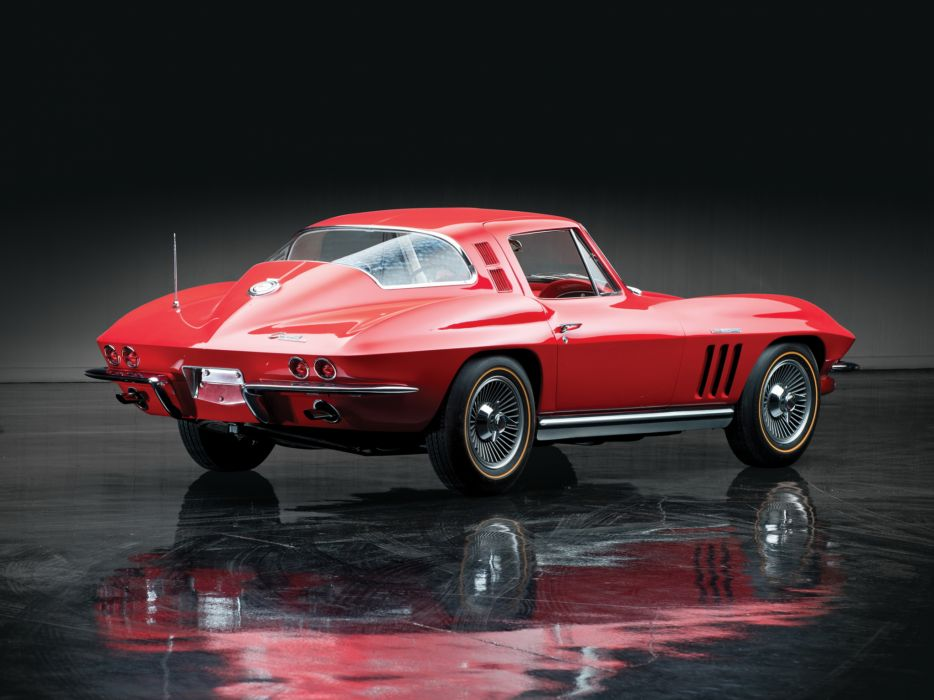 1965 Chevrolet Corvette Sting Ray L84 327 Fuel Injection C-2 supercar muscle classic   hh wallpaper