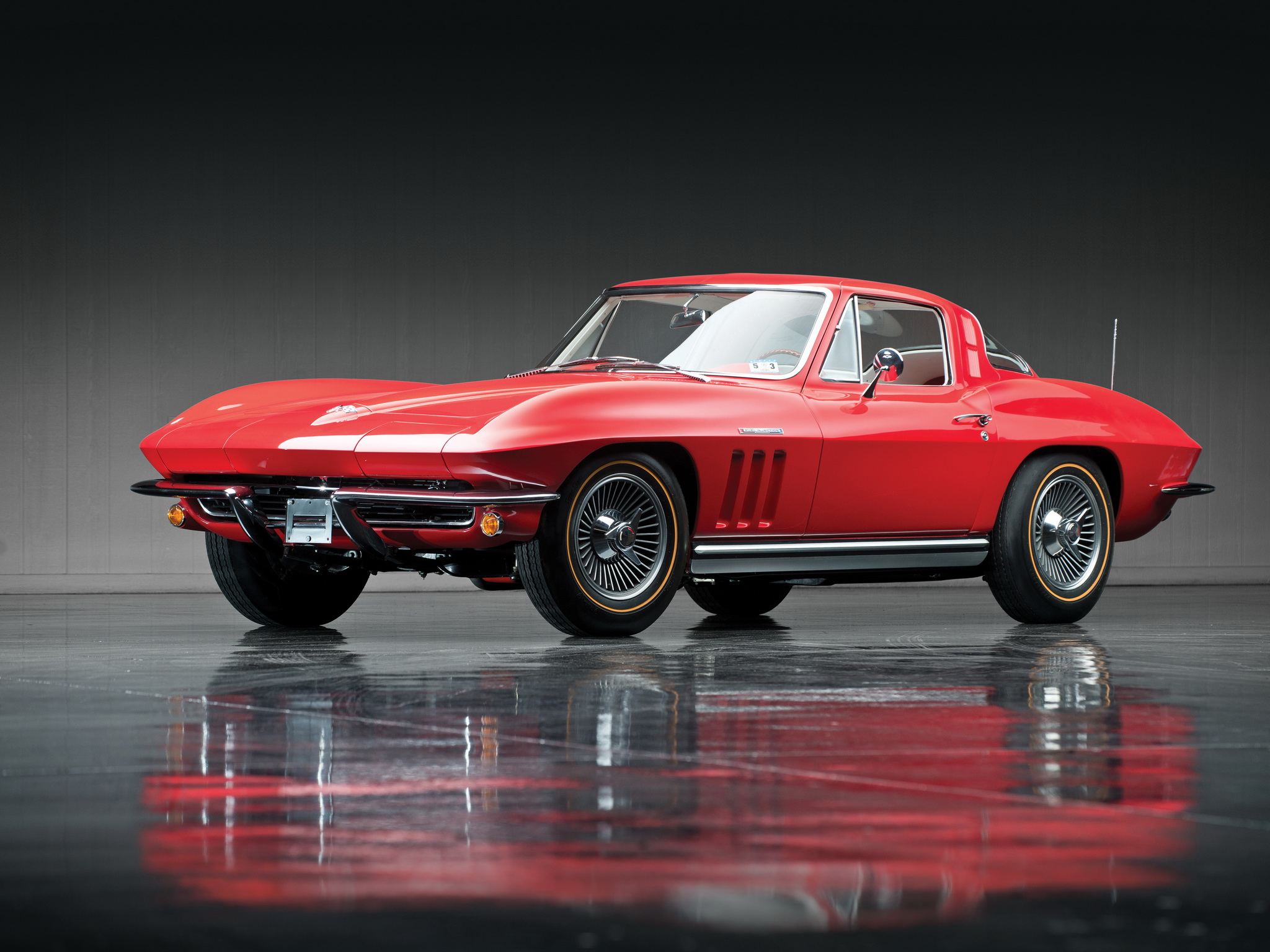 1965 Chevrolet Corvette Sting Ray L84 327 Fuel Injection C 2 Supercar Muscle Classic Hw Wallpaper