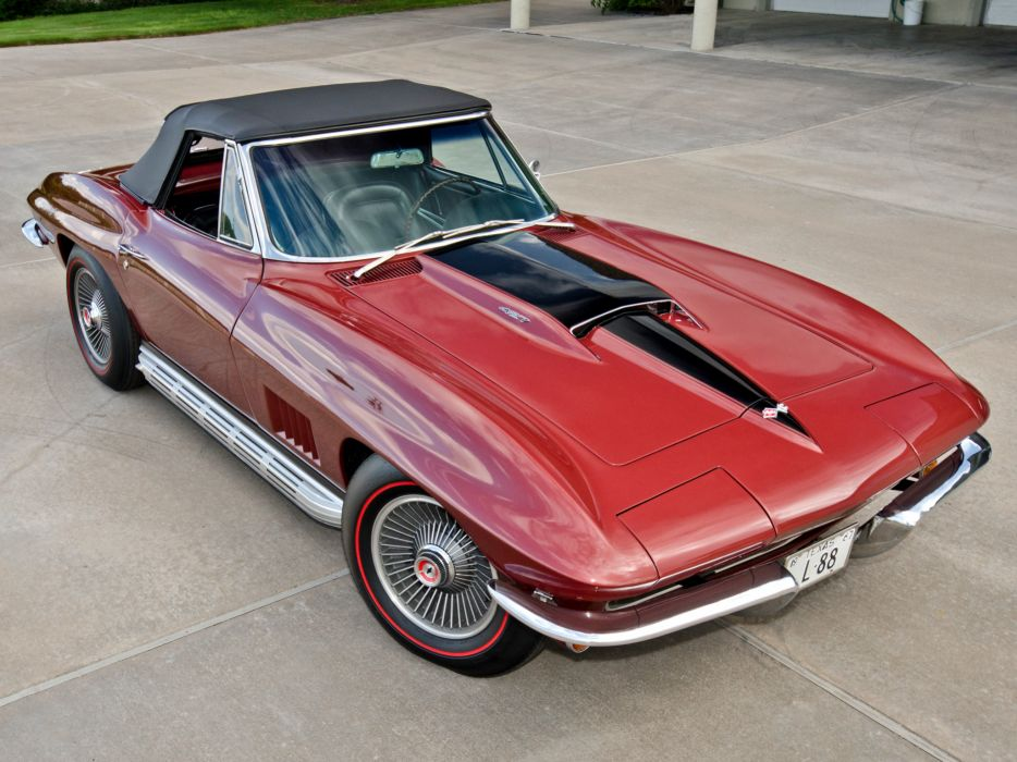 1967 Chevrolet Corvette Sting Ray L88 427 Convertible C-2 supercar muscle classic   g wallpaper