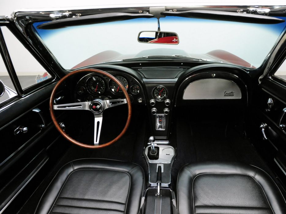1967 Chevrolet Corvette Sting Ray L88 427 Convertible C-2 supercar muscle classic interior h ...