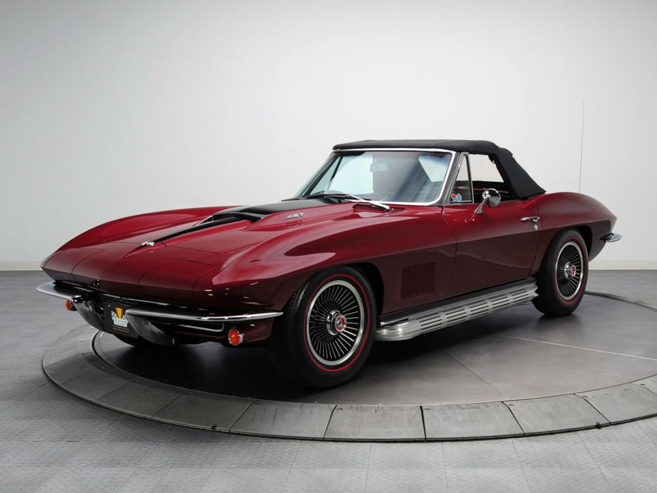 1967 Chevrolet Corvette Sting Ray L88 427 Convertible C-2 supercar muscle classic   v wallpaper