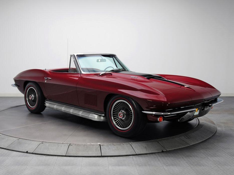 1967 Chevrolet Corvette Sting Ray L88 427 Convertible C-2 supercar muscle classic b wallpaper