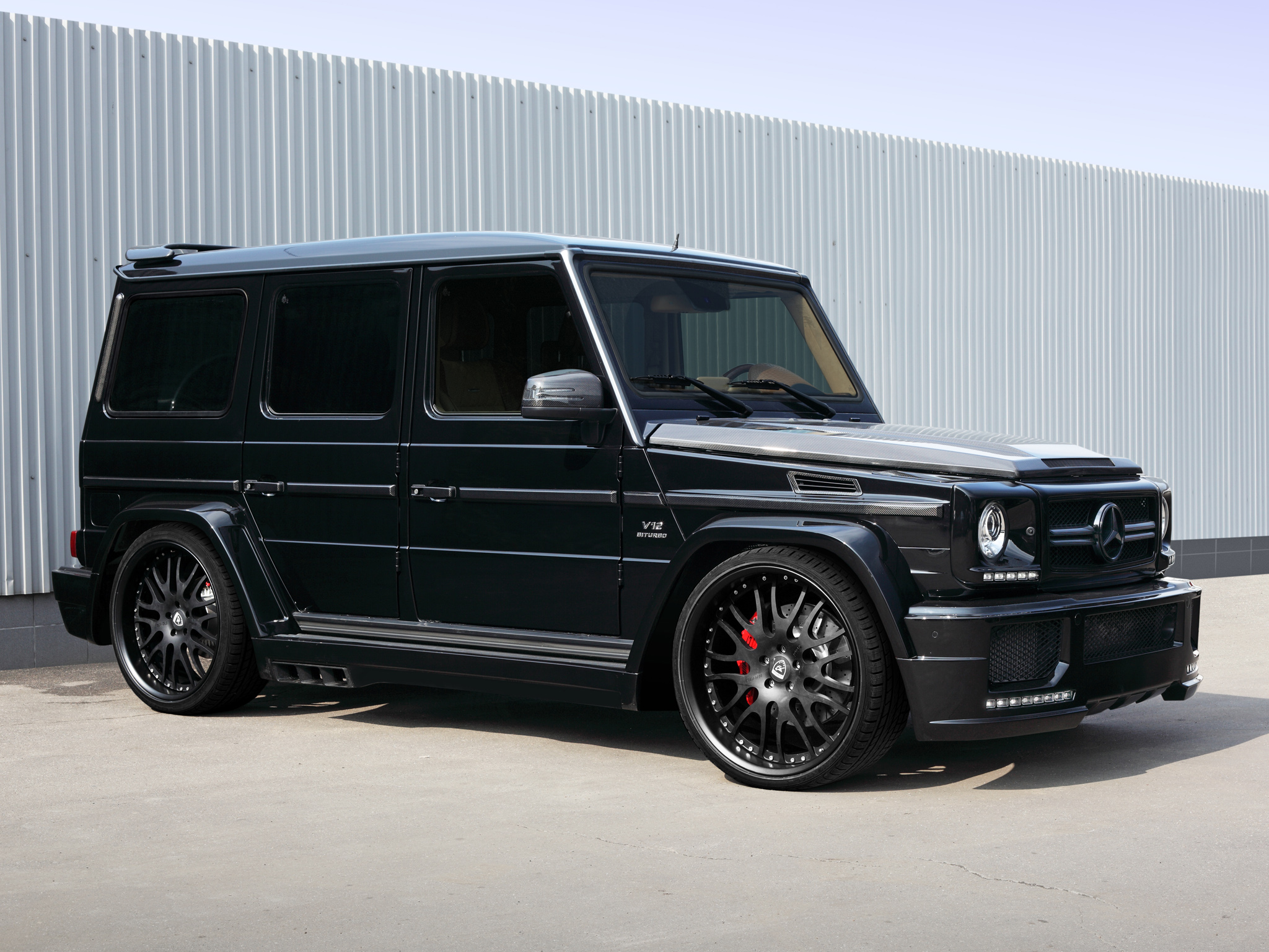 2013 hamann mercedes benz g65 amg tuning suv v12 wallpaper