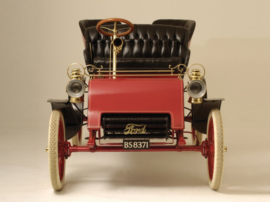 1903 Ford Model-A Tonneau retro     g wallpaper