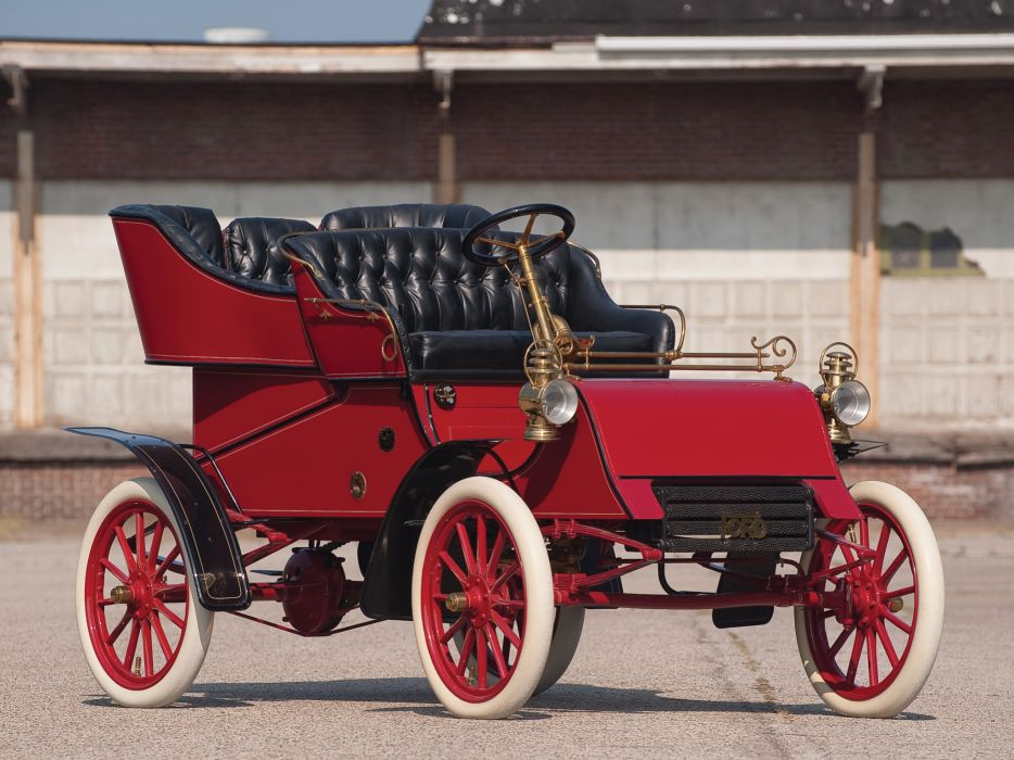 1903 Ford Model-A Tonneau retro   f wallpaper