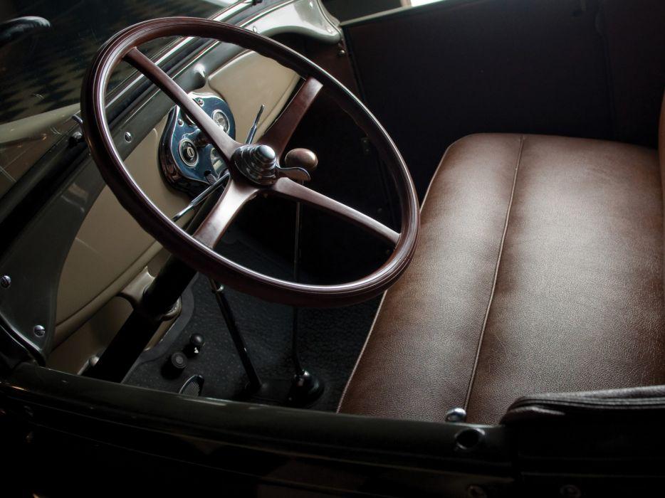 1927 Ford Model-A Roadster retro interior      g wallpaper